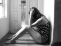 Depression Stock Image