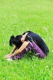 Depression woman Stock Image