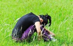 Depression woman Stock Photography