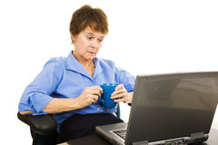 Depression at Work Stock Photography
