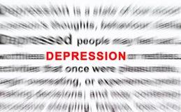 Depressione Immagine Stock Libera da Diritti