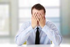 Depressione di affari Immagine Stock