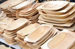 Depressione di legno Fotografia Stock Libera da Diritti