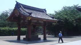 Depressione di purificazione al tempio di honmonji di Ikegami a Tokyo archivi video