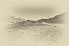 Depressione e vuoto in bianco e nero fotografia stock libera da diritti