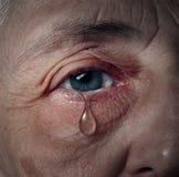 Depressione senior Immagine Stock Libera da Diritti