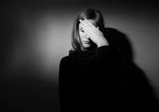 Depressione severa Fotografia Stock
