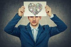 Depressione in vostra testa Fotografia Stock Libera da Diritti