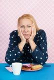 Depressive woman Royalty Free Stock Photos