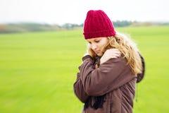 Depressive woman Stock Photography
