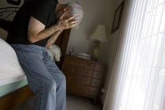 Depresso Fotografia Stock Libera da Diritti