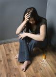 Depressão Fotografia de Stock