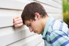 Deprimerat tonårigt Arkivfoton