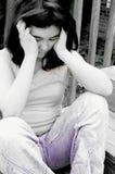 Deprimido Foto de archivo libre de regalías