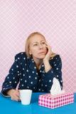 Deprimierende Frau Stockbilder