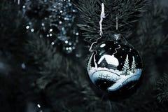 Deprimierendes Weihnachten Stockbild