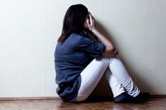 Deprimierte Jugendliche Lizenzfreie Stockbilder