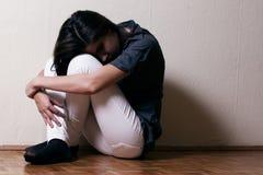 Deprimierte Jugendliche Lizenzfreie Stockfotos