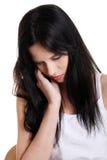 Deprimierte Jugendliche. Lizenzfreies Stockfoto