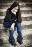 Deprimierte Jugendliche Lizenzfreies Stockbild