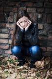 Deprimierte Jugendliche Stockfoto