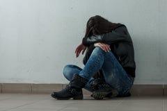 Deprimierte Jugendliche Lizenzfreie Stockfotografie