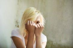 Deprimierte Jugendliche Lizenzfreies Stockfoto