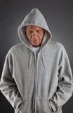 Deprimierter Älterer Lizenzfreie Stockfotos