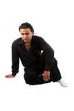 Deprimierter indischer Kerl Lizenzfreie Stockfotografie