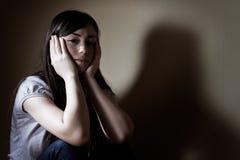 Deprimierter Jugendlicher Lizenzfreies Stockbild