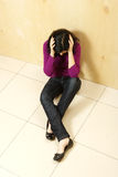 Deprimierter Jugendlicher Lizenzfreie Stockbilder