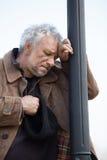 Deprimierter Mann. Stockbild
