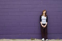 Deprimiertes Mädchen Stockfoto