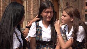 Deprimiertes und den Tränen nah jugendlich Mädchen Lizenzfreies Stockbild