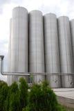 Depósito industrial de aço Fotos de Stock Royalty Free