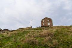Deptak blisko nadbrzeża przy Wimereux, Pas de Calais, Francja Obrazy Stock