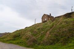 Deptak blisko nadbrzeża przy Wimereux, Pas de Calais, Francja Zdjęcie Stock