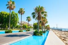 Deptak w Limassol, Cypr fotografia stock