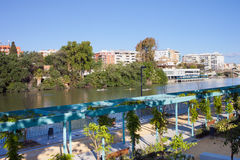 Deptak w Seville Fotografia Stock