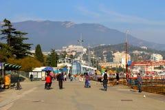 Deptak Yalta Zdjęcie Royalty Free