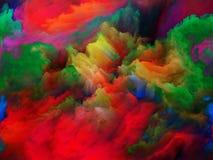 Depth of Colors Stock Photo