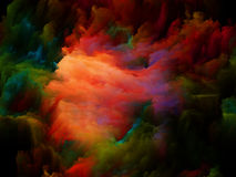Depth of Colors Royalty Free Stock Image