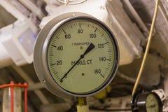 Depth gauge Royalty Free Stock Image
