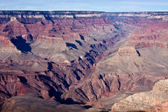 Depths of the Grand Canyon Royalty Free Stock Images