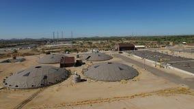 Depuradora aérea de Scottsdale almacen de metraje de vídeo