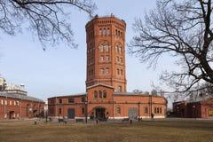 Depuradora de la estación Museo del agua Torre de agua St Petersburg Rusia Fotografía de archivo