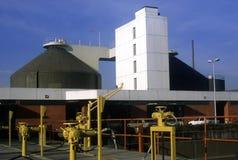 Depuratore di acqua della fabbrica in Germania immagini stock