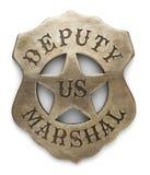 Deputado marechal Badge imagem de stock