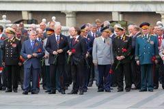 Deputados e veteranos da duma do estado Foto de Stock