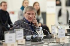 Deputy director of Krasnoyarsk Museum Center Sergey Kovalevsky Royalty Free Stock Photography